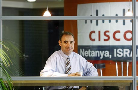 """מנכ""""ל סיסקו ישראל, בועז מעוז, צילום: נימרוד גליקמן"""