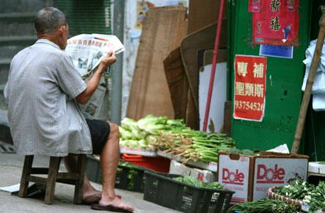 """שנגחאי. שוקעת בקצב של 1.2 ס""""מ בשנה"""
