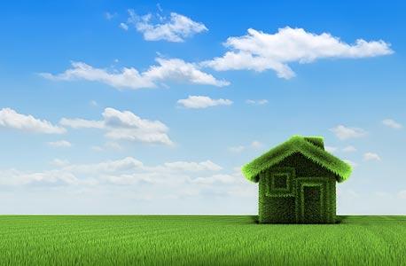 בנייה ירוקה. אילוסטרציה