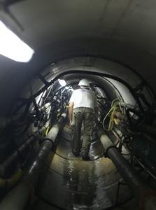 המנהרה של איגודן מתחת לאיילון. 650 מיליון שקל