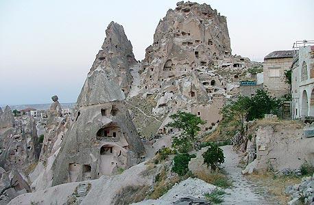 ערי מסתור בחבל קפדוקיה, טורקיה