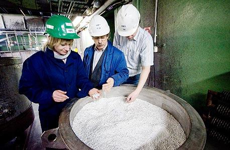 מפעל כריית מתכות, צילום: בלומברג