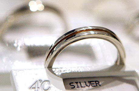 טבעת מכסף