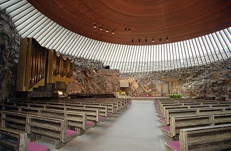 כנסיה בהלסינקי, פינלנד