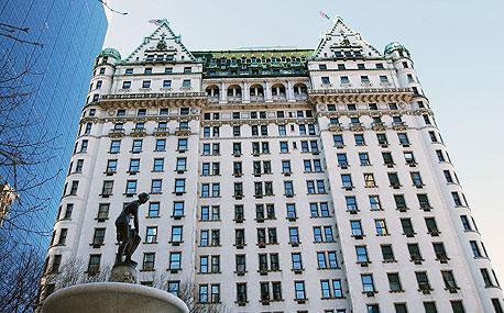 מלון הפלאזה בניו יורק, צילום: בלומברג