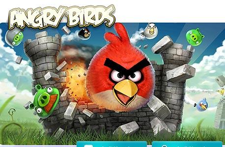 אחד המשחקים הפופולריים, צילום מסך: Rovio.com
