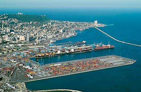 נמל חיפה. גורן עמיר מסייע בהליך ההפרטה של הנמלים