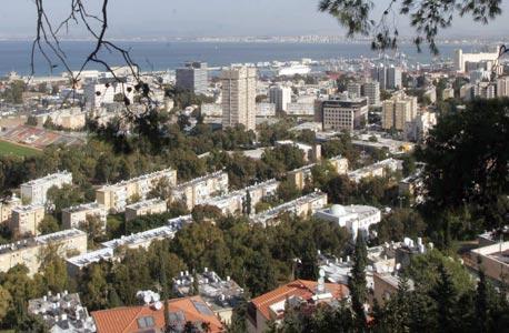 חיפה. האזור מבוקש בקרב זוגות צעירים