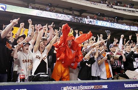 הניצחון של הג'איינטס בוורלד סירייס יעזור לסן פרנסיסקו