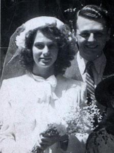 דן דוד עם דורותיאה. האהבה הראשונה