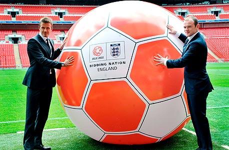 בקהאם ורוני בקמפיין וועדת ההצעה של אנגליה. תיתכן רפורמה רצינית בהתאחדות הכדורגל האנגלית