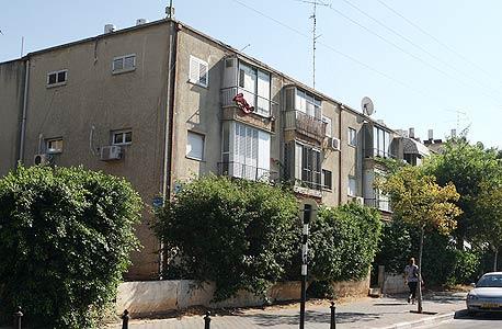 """שכונת יד אליהו בת""""א (ארכיון), צילום: אוראל כהן"""