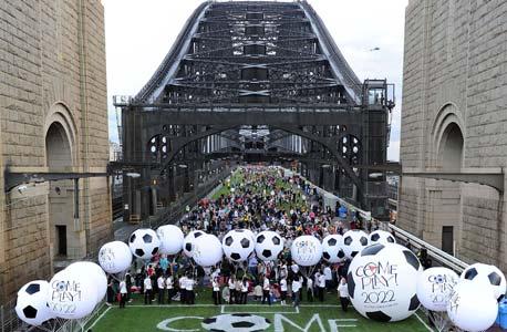 פיקניק אוסטרלי המוני כחלק מהקמפיין, צילום: איי אף פי