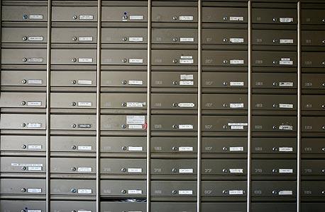 תיבות הדואר. שליש מהדיירים מתחלפים כל שנה