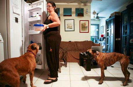 """נטלי אוברט, בת 43, רווקה. גרה בקומה 1. עובדת כסוכנת נסיעות. רכשה את הדירה לפני חמש שנים ומתגוררת בה מאז אכלוס הבניין. היה חשוב לה שתהיה לה גינה קטנה בשביל שלושת הכלבים וחמשת החתולים שלה - דבש, שוקו, מילקי, קרמבו וחבריהם. אוהבת את המיקום כי הוא גורם לה להרגיש בחו""""ל, בגלל העובדים הזרים והעובדה שהעסקים פתוחים בשבת"""