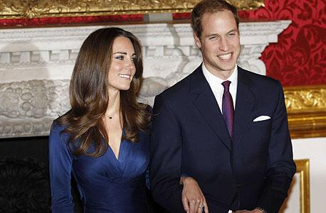 הנסיך ויליאם וקייט מידלטון. ההשוואה בין הזוגות הפכה לעיסוק כפייתי