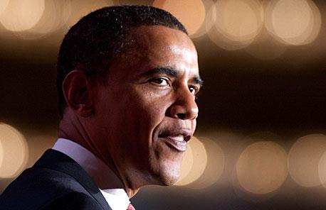 """ברק אובמה המועמד לנשיאות ארה""""ב, צילום: בלומברג"""