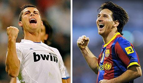 ליאונל מסי וכריסטיאנו רונלדו. מותגי העל של הכדורגל העולמי