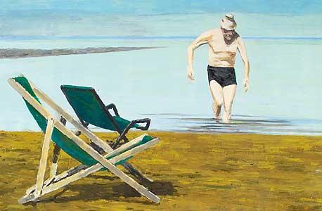 ציור של דודו גרשטיין עולה מן הים