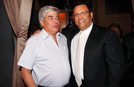 משה ליאון ועמי אראל, צילום: פביאן קולדרוף