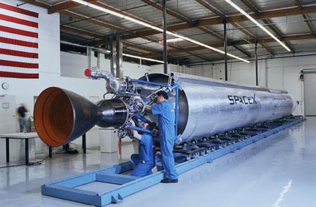 סדנת פרויקט החלל הפרטי ספייס X, אתר SpaceX
