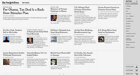 """אפליקציית """"ניו יורק טיימס"""". מוצלחת, אבל מה עם השאר?"""