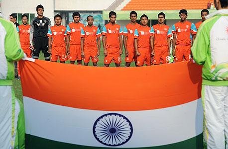 370 מיליון הודים מתעניינים ברמה מסוימת בכדורגל, צילום: איי אף פי