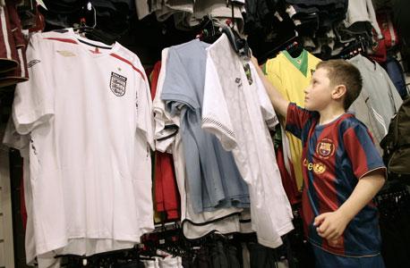 חולצות של ספורטאים, צילום: בלומברג