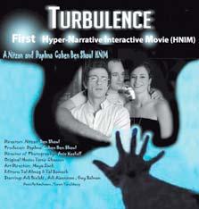 """כרזת Turbulence. """"הקהל השתגע מהחוויה"""""""