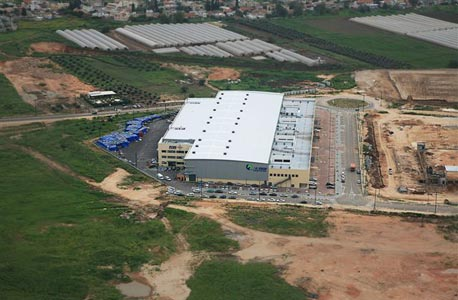 אזור התעשייה בכפר קאסם