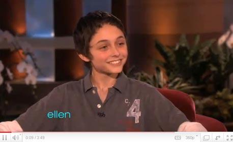 """גרהם טיילור, 14. """"יצאתי מהארון בגיל 13 בפני שניים מחבריי, ואז בפני כולם"""""""