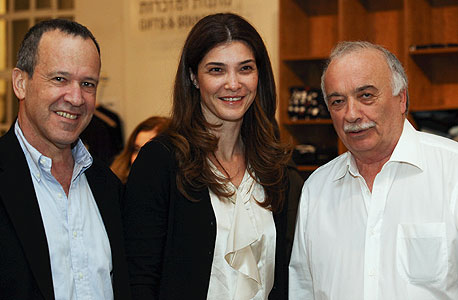 אליעזר פישמן, רונית פישמן ועודד שמיר, צילום: דליה נבעא