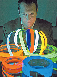 """סטיבן פנדלברי עם הגלילים: """"אמרו לי שזו טכנולוגיה נישתית"""""""
