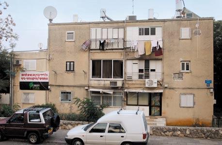 בניין המיועד לפינוי-בינוי ברחוב בית אל 41 בנווה שרת