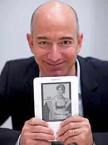 "ג'ף בזוס, מנכ""ל אמזון"
