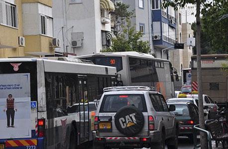 עומס תנועה בתל אביב, ארכיון