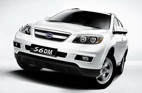 BYD הסינית מציגה את S6DM - רכב כביש שטח היברידי
