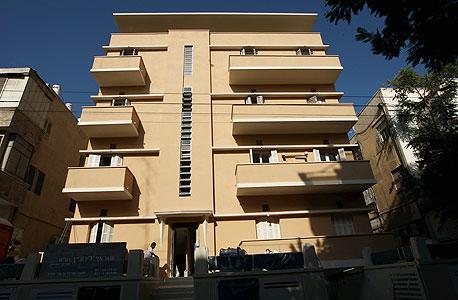 הבניין שבו גרים ליאת צבי ודוד ליפשיץ