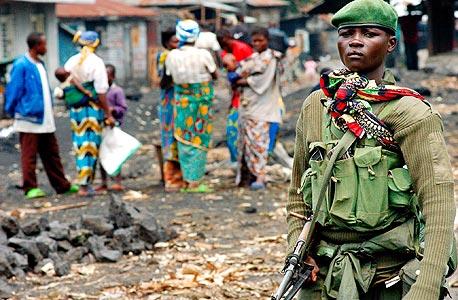 בקונגו משתיקים חרשים, צילום: אי פי אי