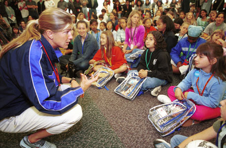 יום ילדים בעבודה בחברת Intuit, צילום: בלומברג