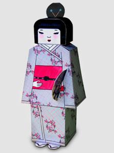בובת נייר יפנית