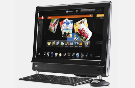 HP TouchSmart600. מחיר: 7,999 שקל