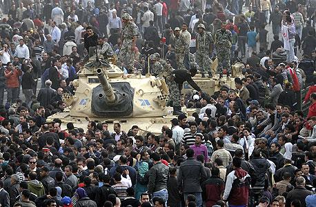 הפגנות בקהיר, בסוף השבוע. משרד התשתיות: אין בעיה עם זרימת הגז ממצרים