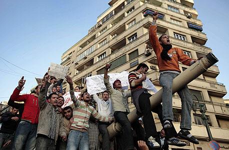 מפגינים במצרים