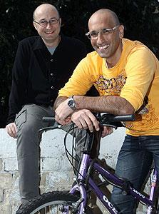 """מייסדי Zibaba, רונן שלמה ואריה פישלר. """"פייסבוק הפכה עם הזמן לדפדפן"""""""