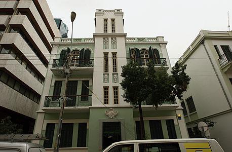 אחד העם 48. בניין לשימור שיוסב למשרדים , צילום: עמית שעל