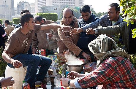 המהומות במצרים. הימים הגדולים של אל ג