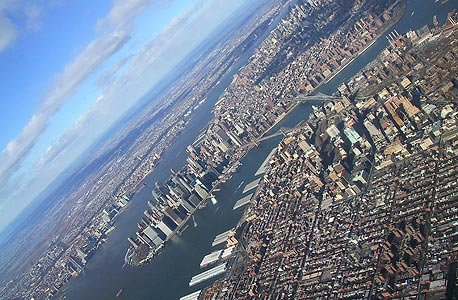 מנהטן, ניו יורק. העולם נהפך לאורבני