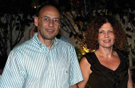 חדוה שרון ו גיל שרון, צילום: עמית שעל