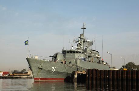 הצי האיראני. המדיניות התוקפנית נמשכת, צילום: אי אף פי